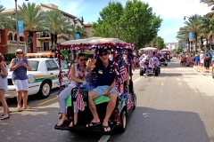 4th of July Parade Cart