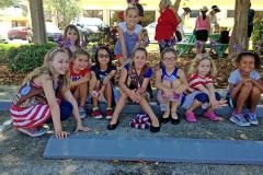 Brownie Troup July 4 Parade Lauderdale by the SEa