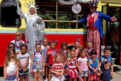 Brownies and Sun Trolley 2016 LBTS 4th of July Parade