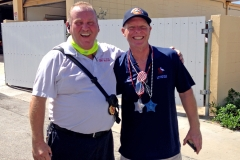 Buz Oldaker and Mark Conn at Parade 2016