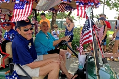 Comm Elliot Sokolow 4th of July Parade