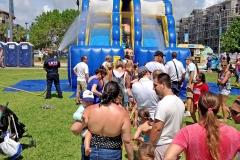 El Prado Park Family Fun Day Waterslide LBTS 2016