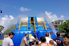 El Prado Park Waterslide 4th of July Lauderdale by  the Sea