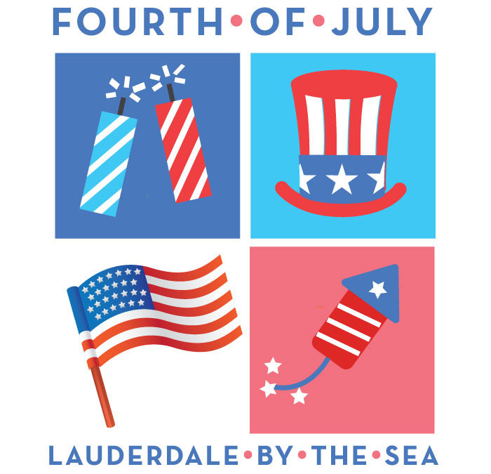 Lauderdale-By-The-Sea Fourth of July Parade, Family Fun Day, & Fireworks
