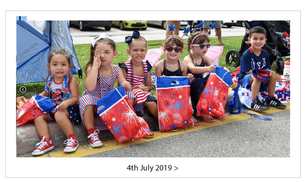 4th July 2019 in Lauderdale-by-theSea - click to view images.