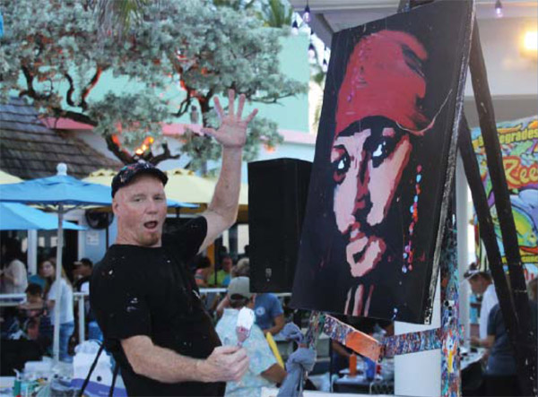 Dale Henry Speed Painter at Bugfest