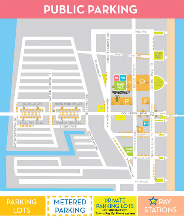 Parking Map - August 2021