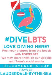 DiveLBTS sign