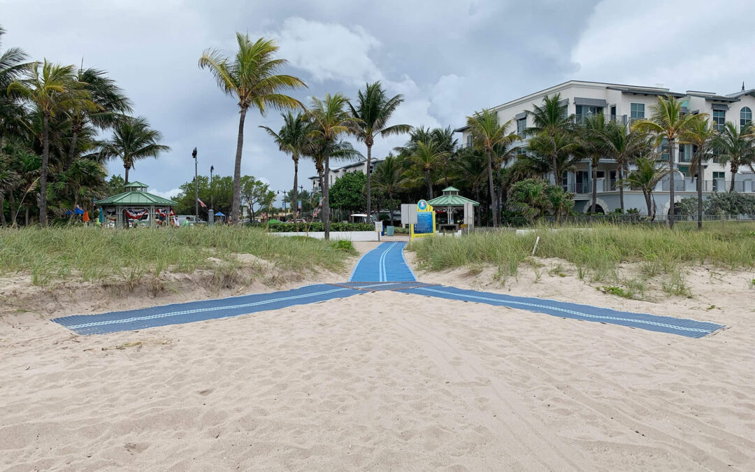Making Our Beachside Town Even More Accessible: New Mobi-mat Installed at El Prado Park